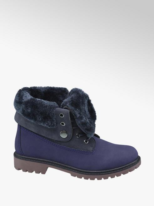 Landrover Modrá šněrovací obuv Landrover