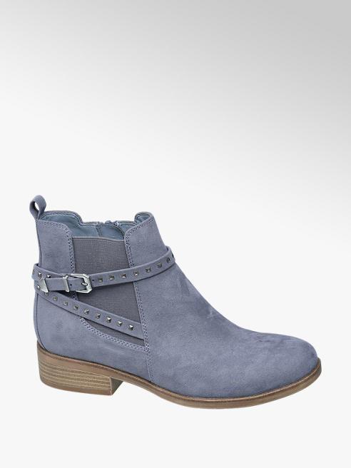 Graceland Modrá obuv chelsea Graceland se zipem