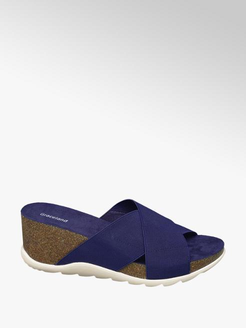 Graceland Modré pantofle Graceland