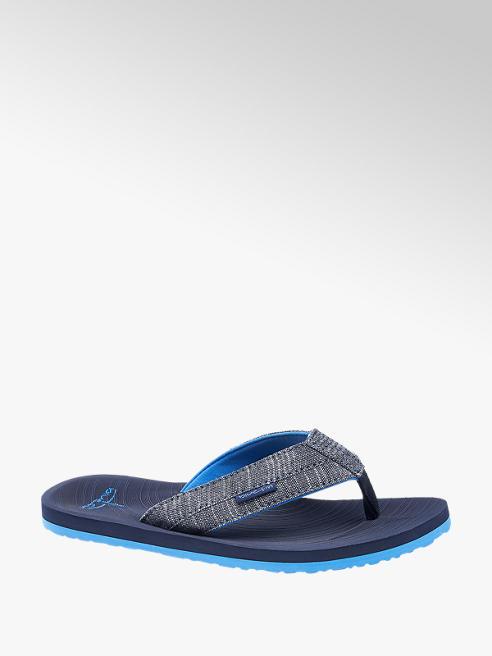Blue Fin Modré plážové žabky Blue Fin