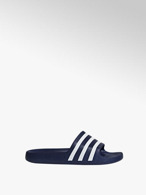 adidas Modré plážové šľapky Adidas Adilette Aqua