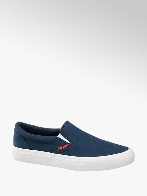 Jack & Jones Modrá plátěná slip-on obuv Jack & Jones