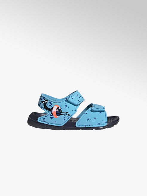 adidas Modré sandály Adidas Alta Swim C