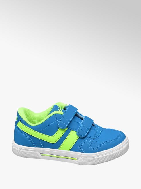 Bobbi-Shoes Modré tenisky na suchý zip Bobbi-Shoes