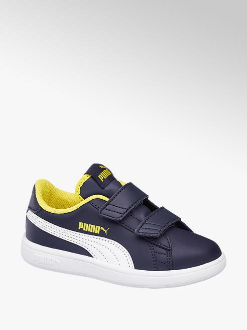 Puma Modré tenisky na suchý zip Puma Smash 2 L V Ps