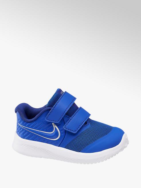 NIKE Modré tenisky na suchý zips Nike Star Runner 2