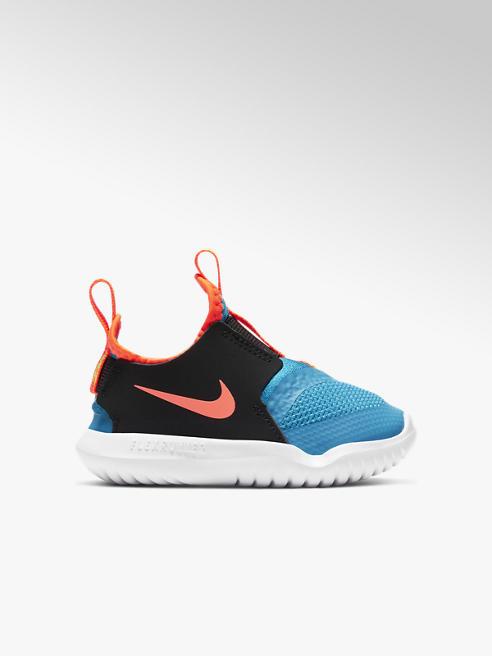 NIKE Modro-černé dětské slip-on tenisky Nike Flex Runner