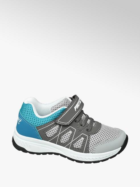 Bobbi-Shoes Modro-sivé tenisky na suchý zips Bobbi Shoes