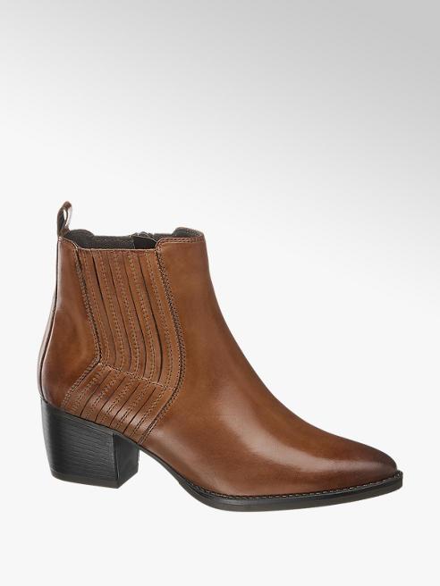 5th Avenue Moteriški odiniai aukštakulniai aulinukai, kaubojiški batai 5th Avenue