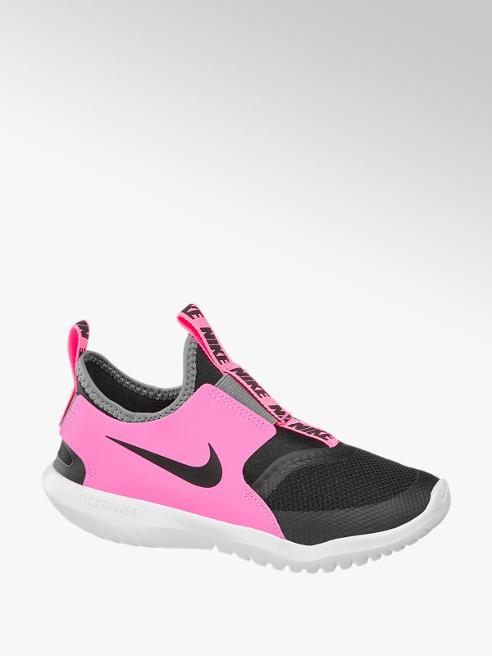 NIKE Slip On Sneaker FLEXRUNNER in Pink-Schwarz