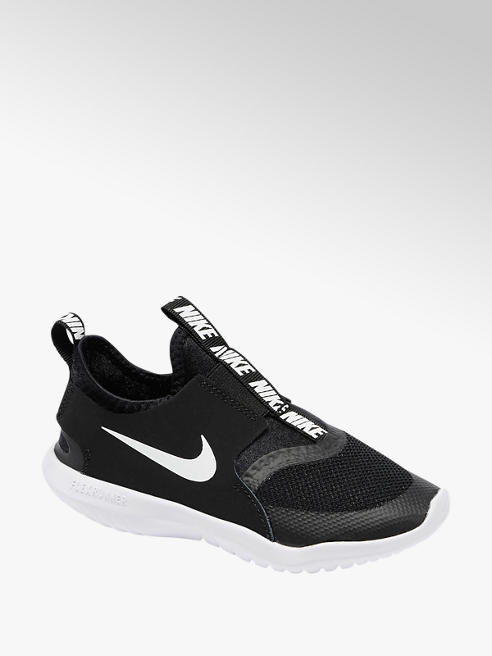 NIKE Slip On Sneaker FLEXRUNNER in Schwarz