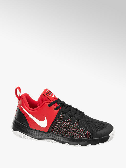 NIKE Sneaker TEAM HUSTLE QUICK in Rot-Schwarz