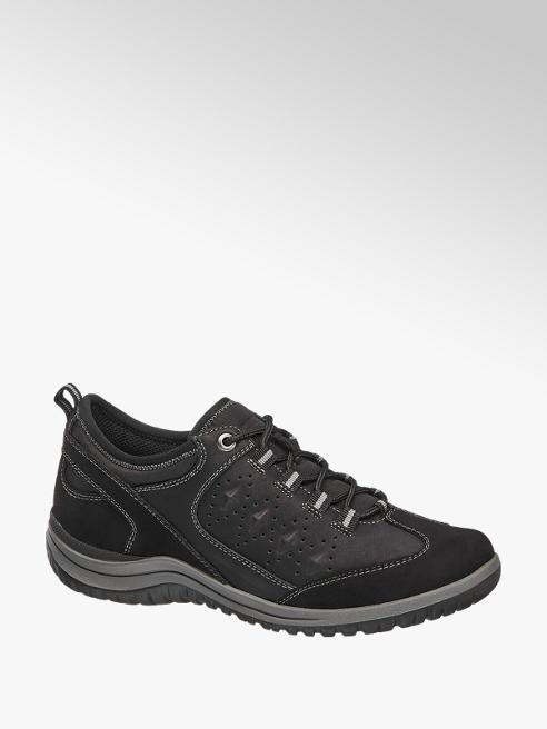Easy Street Női fekete kényelmi cipő