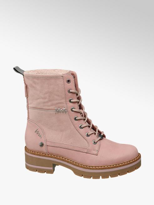 Bench Női pink bakancs