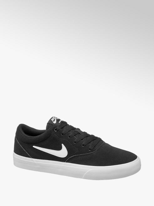 NIKE Mens Nike CB Charge Black Suede Lace-up Trainers