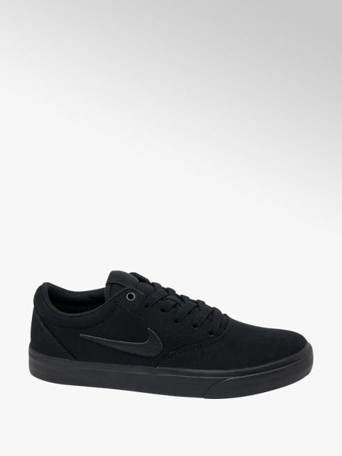 NIKE Mens Nike SB Charge Solar Black Lace-up Shoes