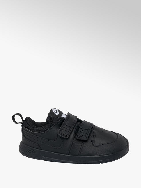 NIKE Toddler Nike Pico Black Touch Strap Trainers