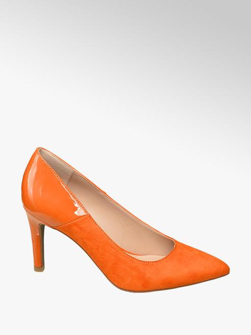 Star Collection Oranžové lodičky Rita Ora