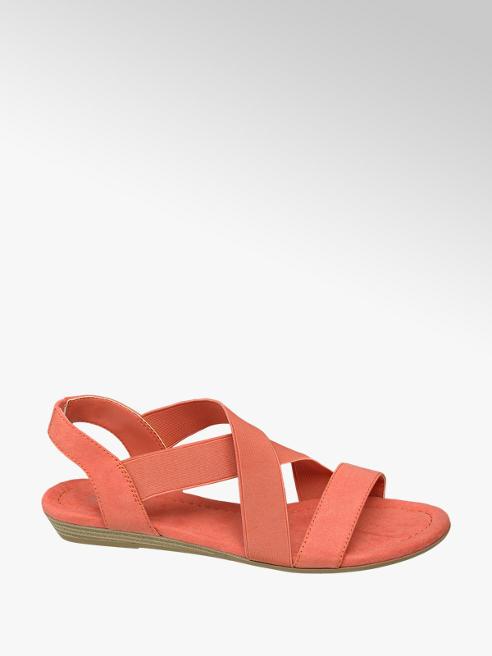 Graceland Oranžové sandály Graceland