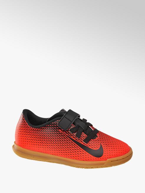 NIKE Oranžové sálovky na suchý zip Nike Bravata II