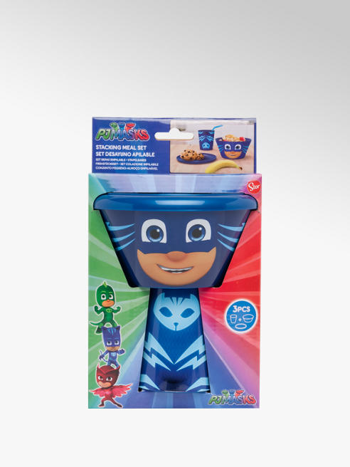 Paw Patrol PJ Masks Stacking Meal Set