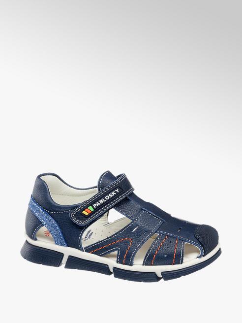 Pablosky Leder Sandalen in Blau
