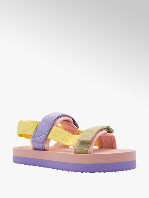 Vero Moda Pastelové sandále Vero Moda na platforme