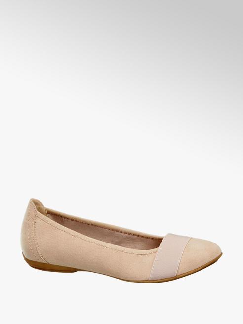Graceland Pasztell  színű balerina