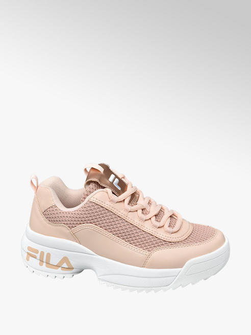 Fila Púder színű női chunky sneaker