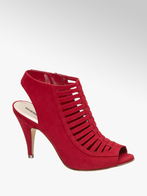 Graceland Peep toe destalonado