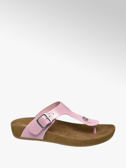 Graceland Pink hipszter papucs