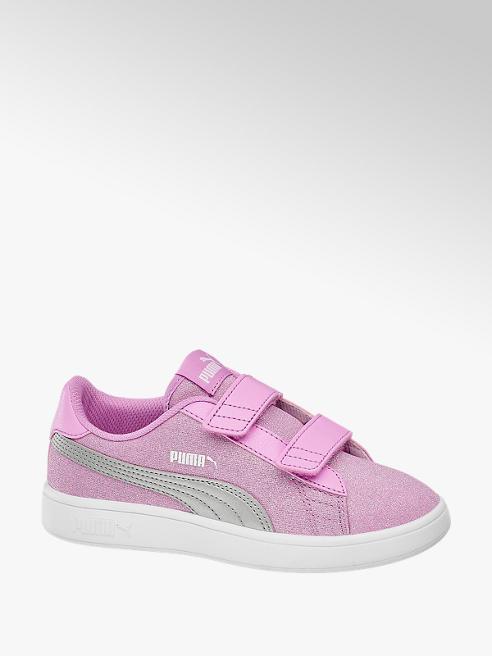 Puma Pink lány PUMA SMASH V2 GLITZ GLAM sneaker