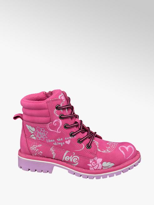 Venice Pink lány bakancs