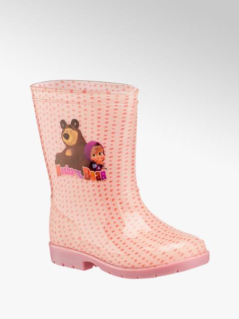 Masha and the bear Pink lány gumicsizma