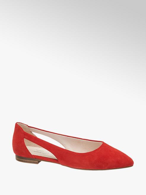 5th Avenue Piros színű balerina