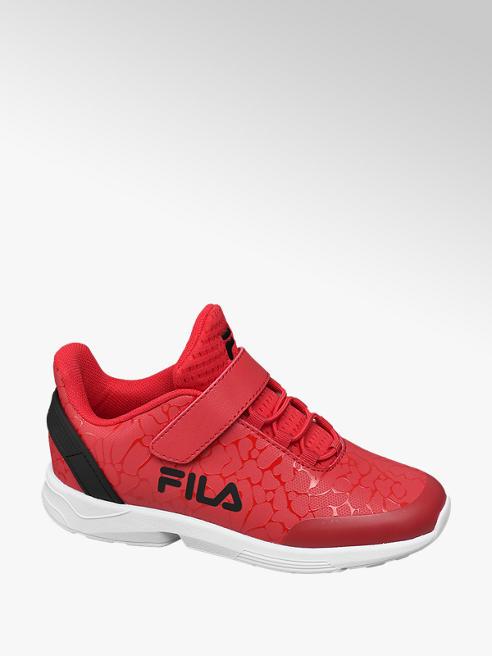 Fila Piros tépőzáras gyerek sneaker