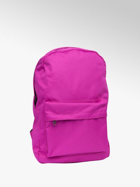 Plain Fushia Backpack