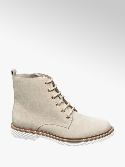 Graceland Plitke čizme na pertlanje