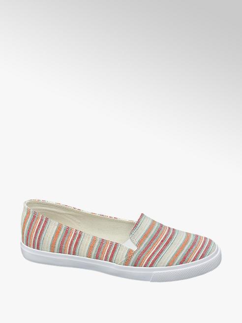 Vty Plátěná slip-on obuv