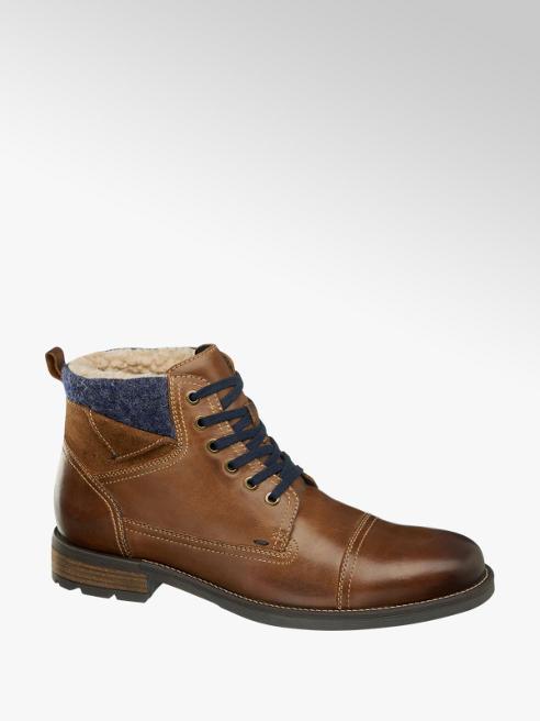 AM SHOE Pánska zimná členková obuv