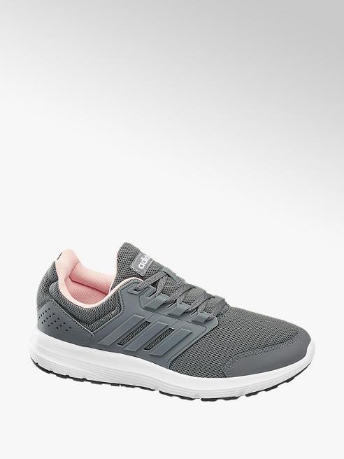adidas popielate sneakersy damskie adidas Galaxy 4