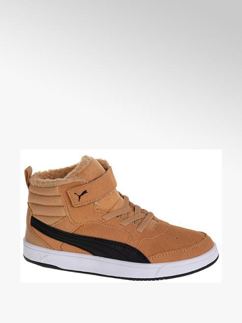 Puma Gefütterte Mid Cut Sneaker REBOUND STREET VS in Braun