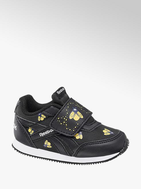Reebok Reebok ROYAL CL JOG 2V KC fekete mintás gyerek sneaker