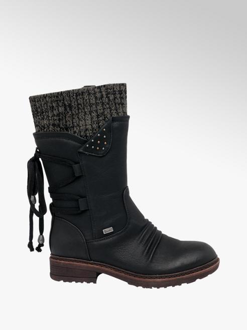 Rieker Black Rieker Long Leg Boots