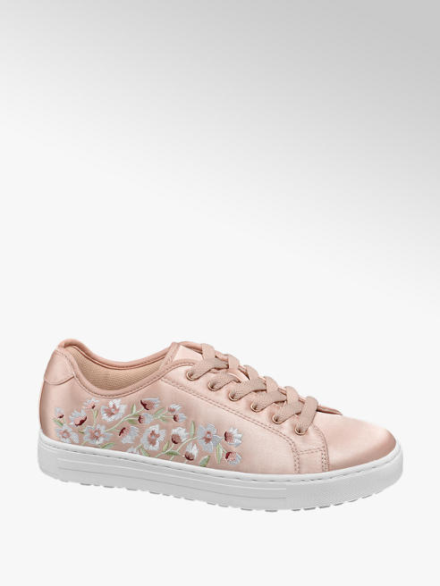 Graceland Rose gold szatén sneaker