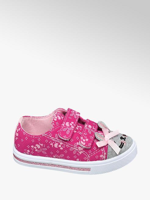 Cupcake Couture Růžové dětské bačkůrky na suchý zip Cupcake Couture
