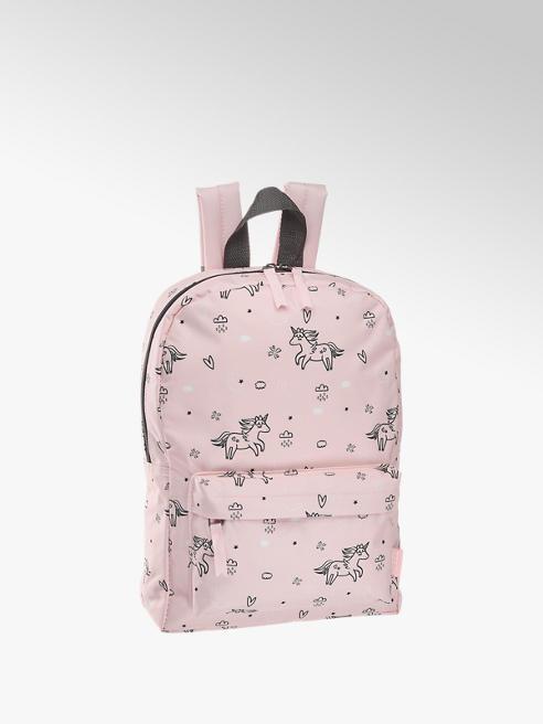 Růžový dětský batoh s jednorožci