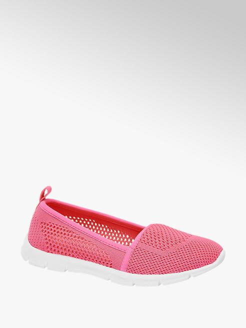 Graceland Růžová dětská slip-on obuv Graceland