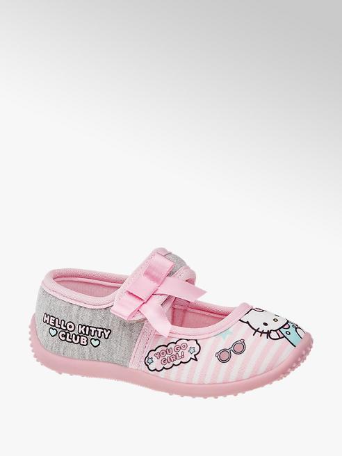 HELLO KITTY Růžové dívčí bačkůrky Hello Kitty