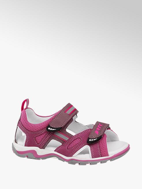 Bartek Růžové kožené sandály Bartek